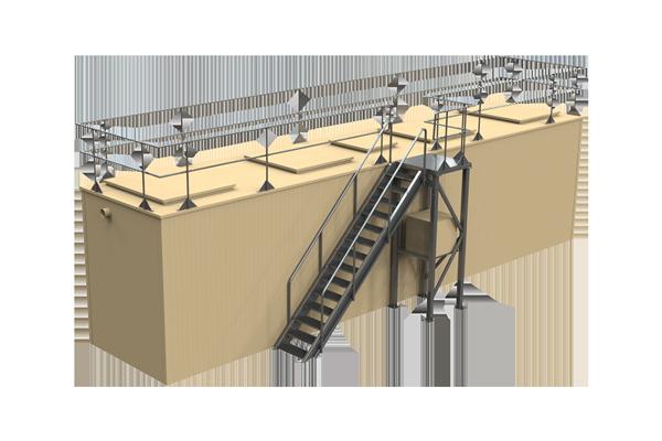 Biologiniai gamybinių nuotekų valymo įrenginiai