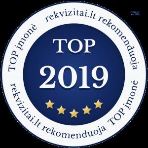Top įmonė 2019